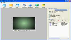 CoffeeCup Web Video Player