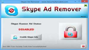 AD Remover for Skype