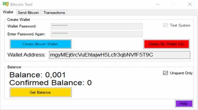 Bitcoin Tool
