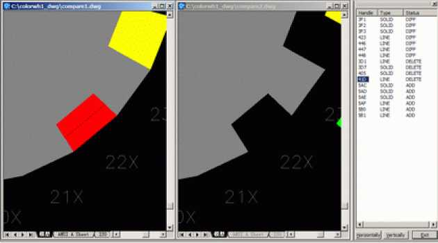 DWG Compare for AutoCAD