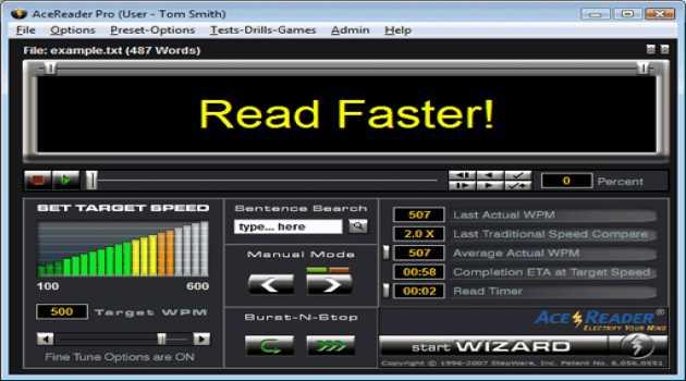 AceReader Pro Deluxe Network