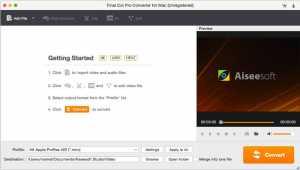 Aiseesoft Final Cut Pro Converter for Mac