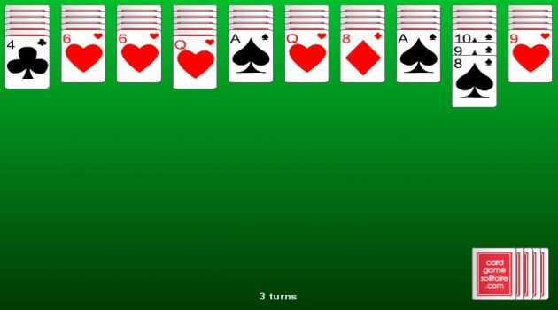 4 Suit Spider Solitaire