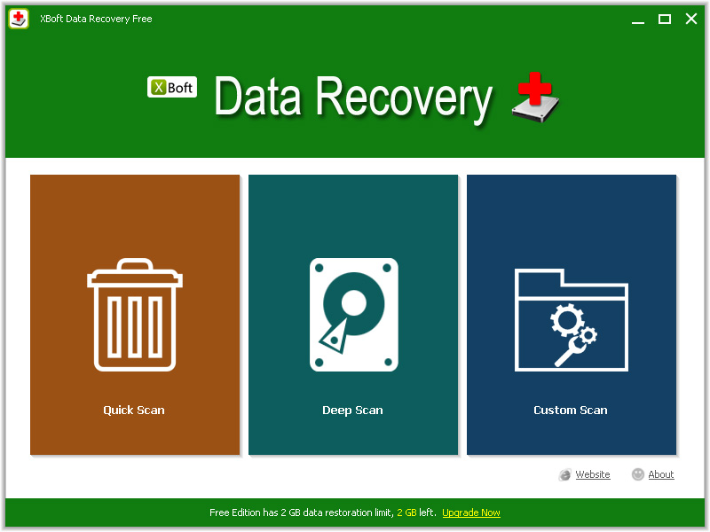 XBoft Data Recovery Free