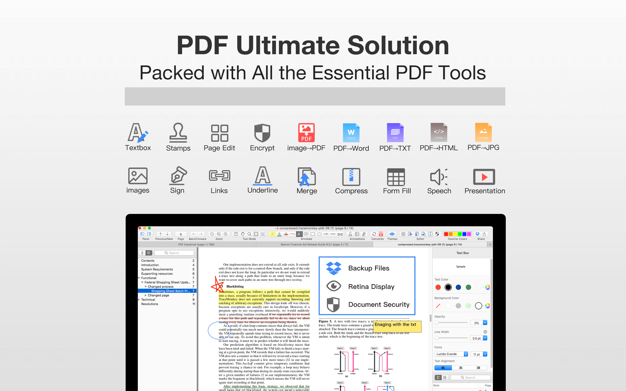 PDF Professional - Annotate,Sign