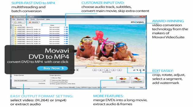 Movavi DVD to MP4