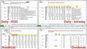 Ultimate Excel Stock Quotes Downloader