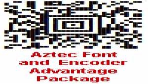 Aztec Font and Encoder Advantage Package