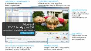 Movavi DVD to Apple TV