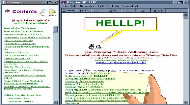 HELLLP! WinHelp Author Tool for WinWord