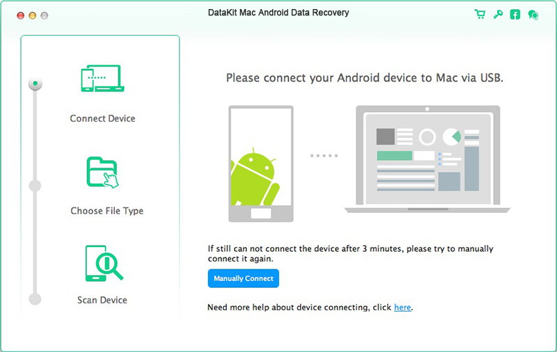 DataKit Mac Android Data Recovery