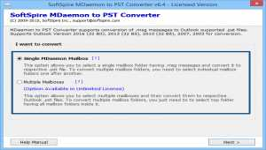 MDaemon Export to PST