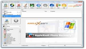 AppleXsoft Photo Recovery for Windows