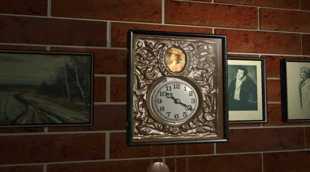 """Old Polish Clock"" Screen Saver"