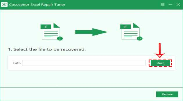 Cocosenor Excel Repair Tuner