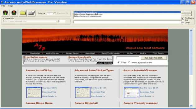 Aarons Auto-Browse