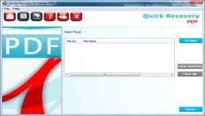 Repair PDF Files