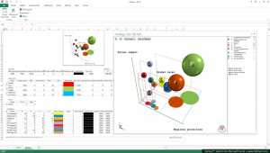 5dchart Add-In (for MS Excel) 3 1 - Create 3D bubble charts and 3D
