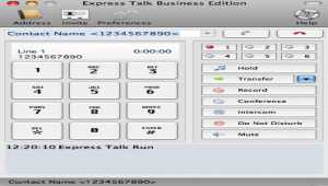 Express Talk Free VoIP Softphone for Mac