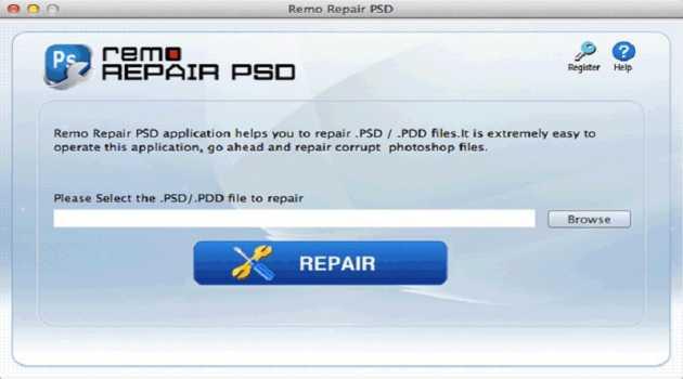 Remo PSD Repair Mac
