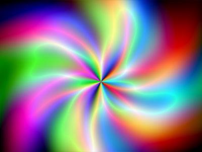 Plasma Flower Screensaver