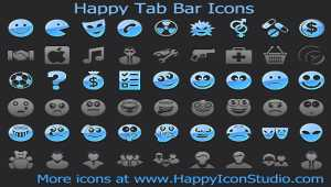 Happy Tab Bar Icons