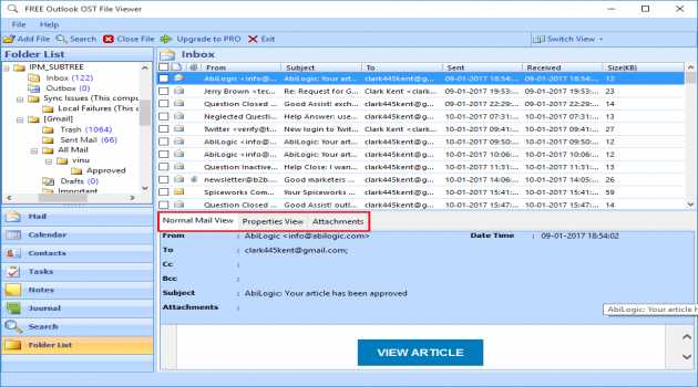 OST File Opener Free