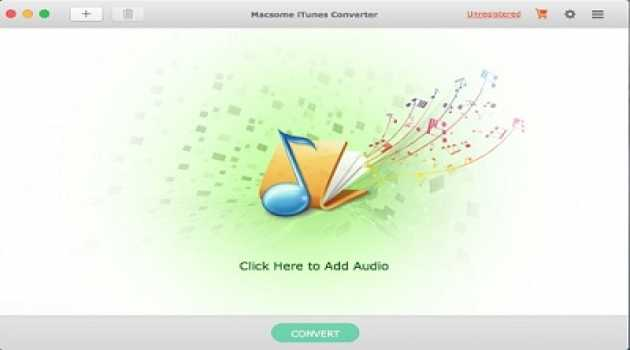 Macsome iTunes Converter for Mac