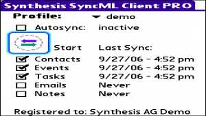 Synthesis SyncML Client PRO for PalmOS