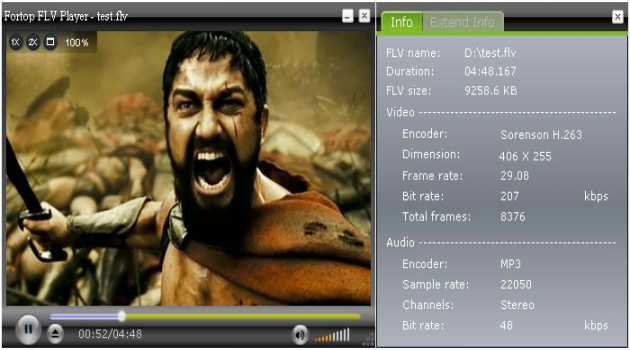 Fortop FLV Player