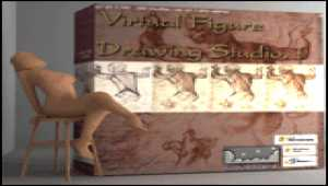 3DVirtual Figure Drawing Studio (Female)
