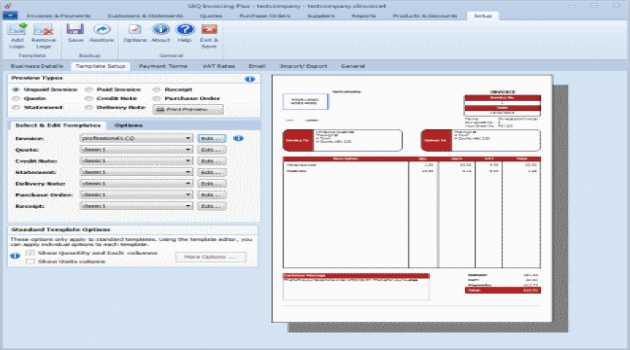 SliQ Invoicing Lite 2