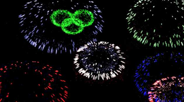 Fireworks 3D Screensaver