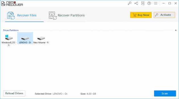 Remo Recover Windows Basic
