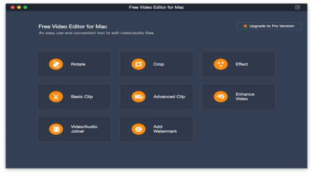 Aiseesoft Free video Editor for Mac