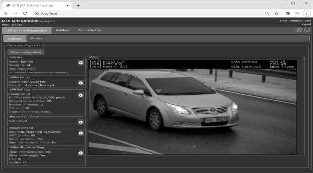 License Plate Recognition SDK
