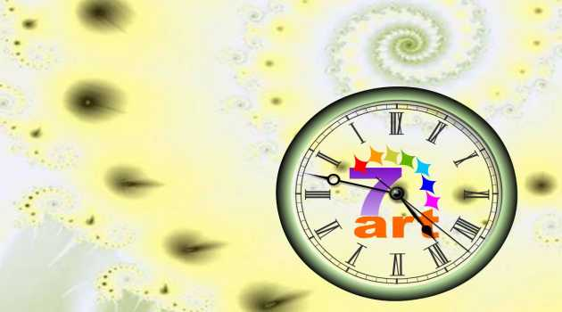 7art Mirror Clock ScreenSaver