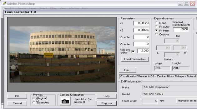Proxel Lens Corrector Mac