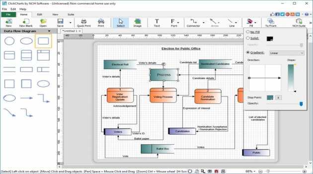 ClickCharts FlowCharts Software Pro