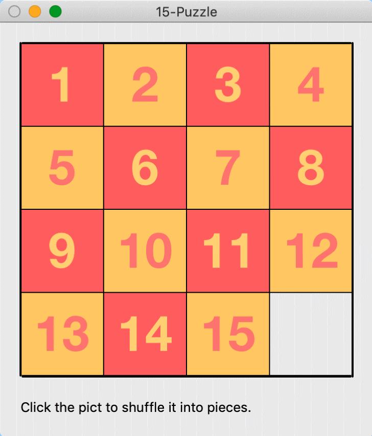 Classics For X 15 Puzzle