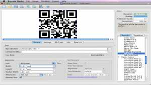 Barcode Creator Software Barcode Studio for Mac