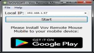 Vov Remote Mouse