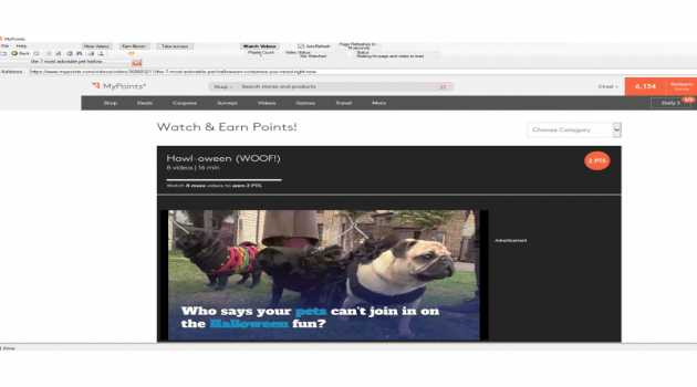 MyPoints Video Viewer