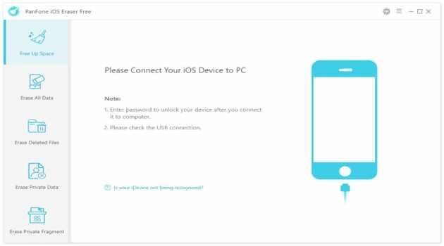 PanFone iOS Eraser Free