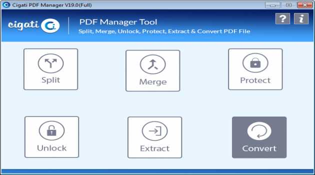 Cigati PDF Management Software