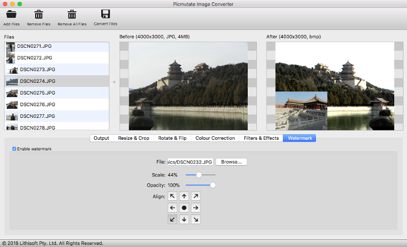 Picmutate Image Converter for Mac