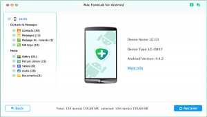 Fonelab Android Data Recovery for Mac