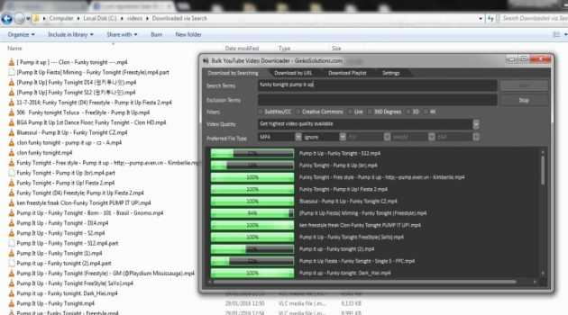 YouTube Mass Video Downloader