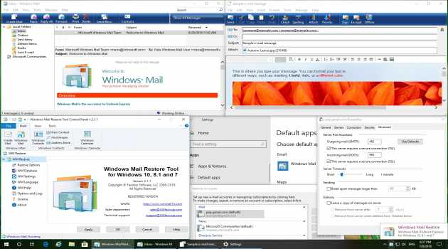 Windows Mail Restore Tool