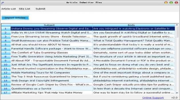 Article Submitter Plus